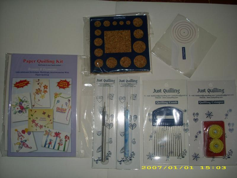 Quilling Tools & Accessories Set 1