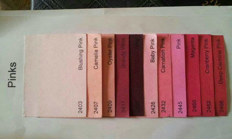 pink Single color shades
