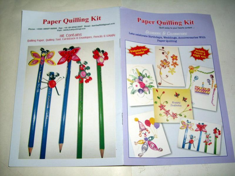 Paper Quilling Supplies Paper Quilling Kit