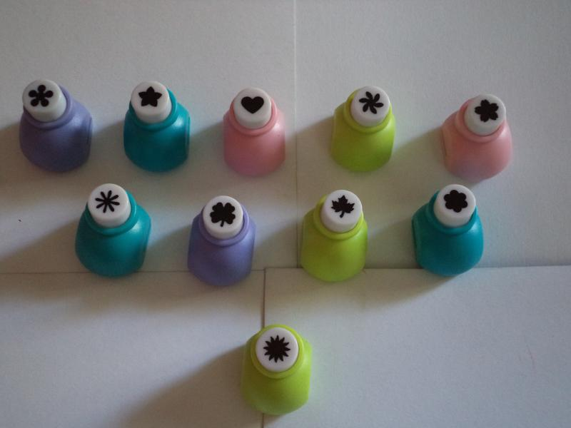 Mini Punches Set 1