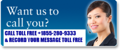 Toll Free USA & UK Telephone Quilling Helpline